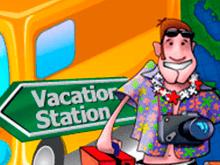 Vacation Station игровой аппарат с яркими виртуальными символами
