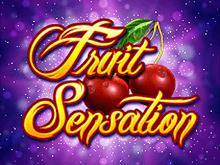 Автомат Fruit Sensation на бонусы